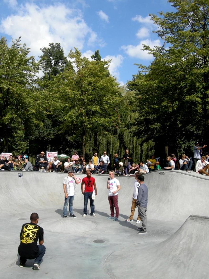 Skatepool Heemraadssingel officially opened!