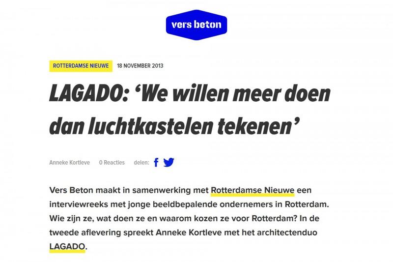 Interview Rdamse Nieuwe