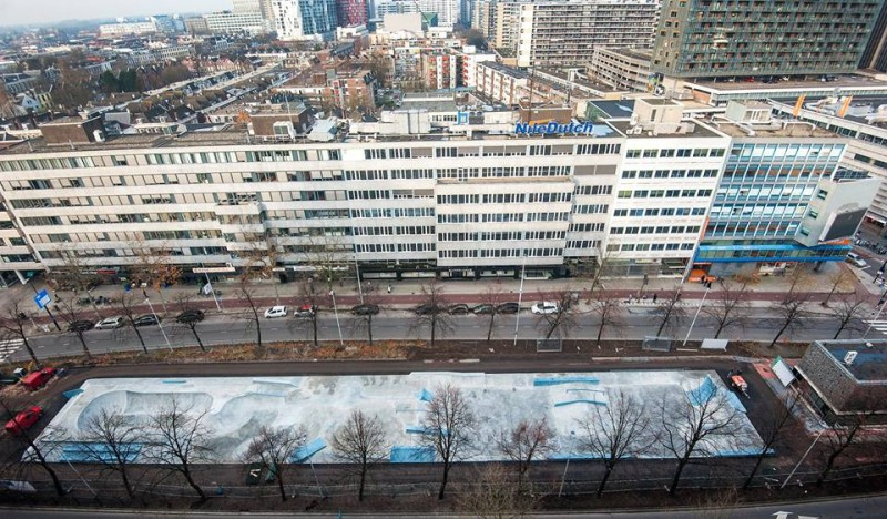 Westblaak Rotterdam skatepark LAGADO architects public space urban youth play 4