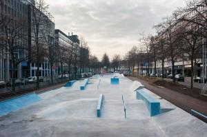 Westblaak Rotterdam skatepark LAGADO architects public space urban youth play 5