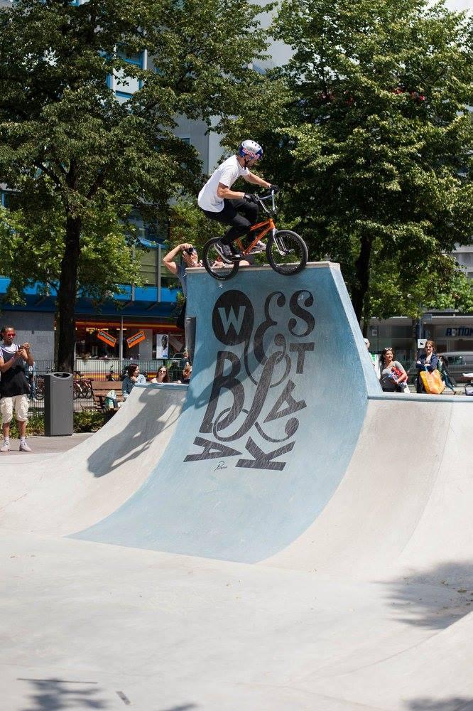 Westblaak Rotterdam skatepark LAGADO architects public space urban youth play opening2
