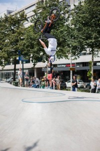 Westblaak Rotterdam skatepark LAGADO architects public space urban youth play opening4