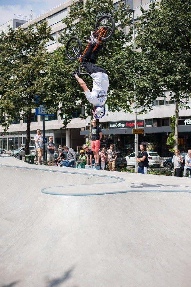 Westblaak Rotterdam skatepark LAGADO architects public space urban youth play opening4