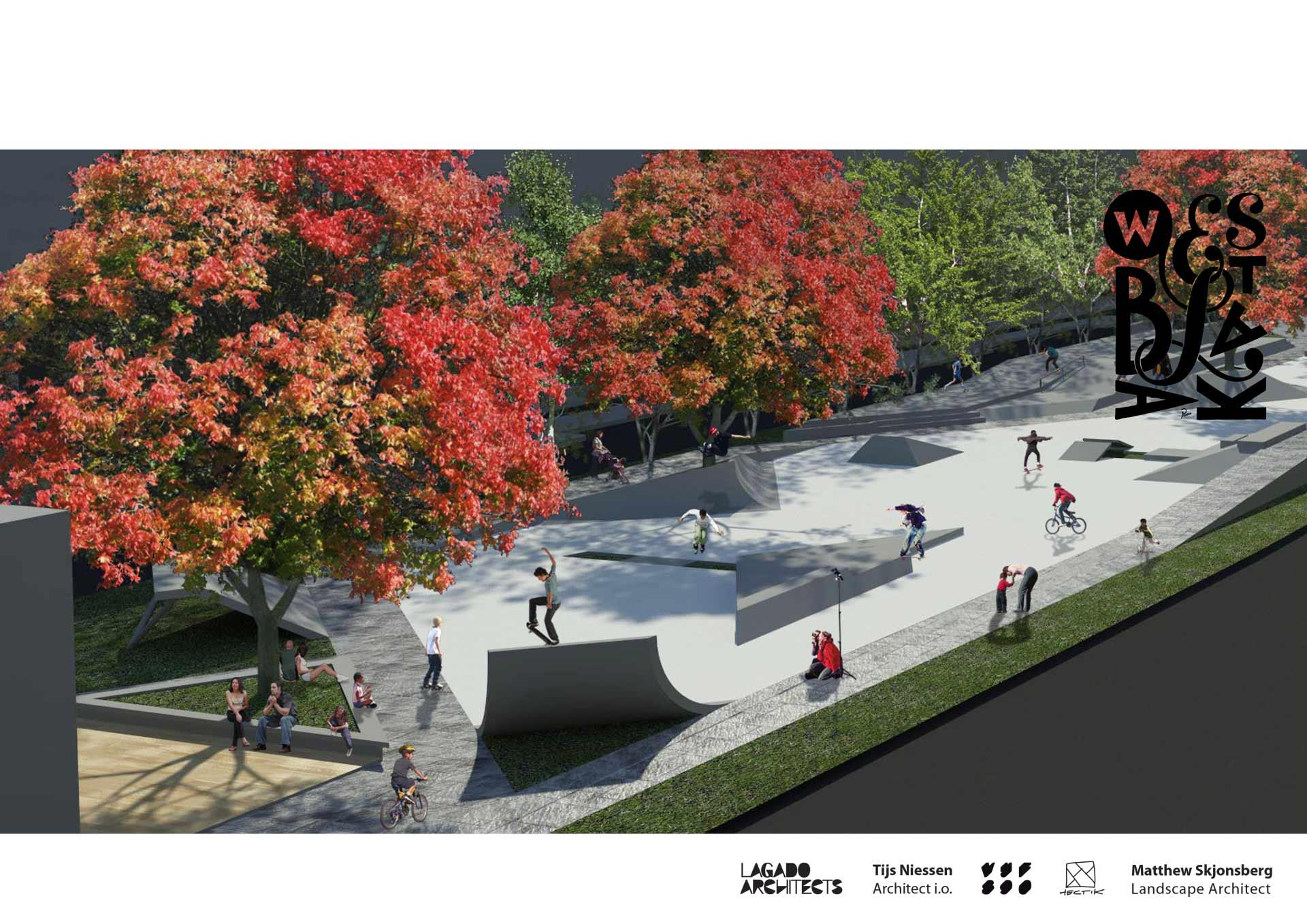 Westblaak-Rotterdam-skatepark-LAGADO-architects-public-space-urban-youth-play-proposal1