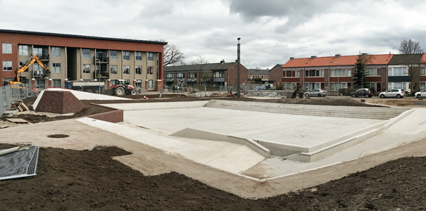 Playscape and watersquare Tiel almost finished!