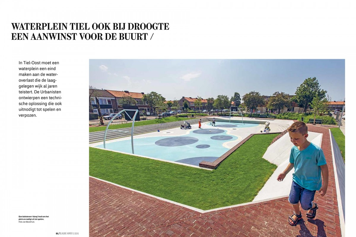 Watersquare Tiel published in Blauwe Kamer