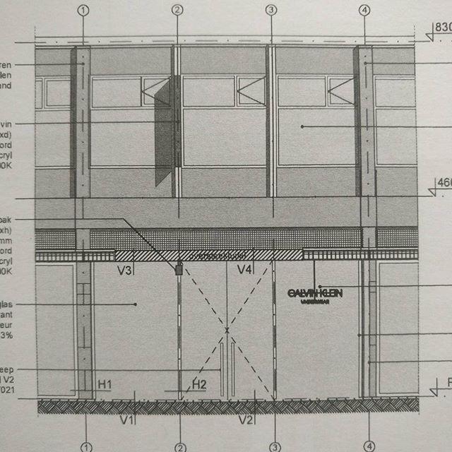 Building permit handed in for Calvin Klein shop at Lijnbaan Rotterdam
