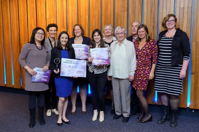 Maria awarded runner up prize for Marina van Damme Grant