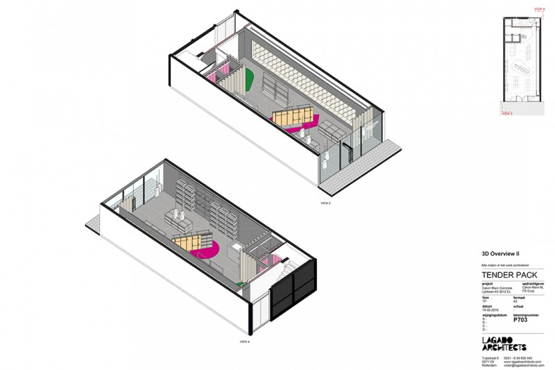 Building permit granted for Calvin Klein Lijnbaan – Lets build!