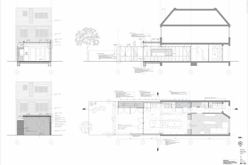 Bouwen zonder vergunning met LAGADO architects in Rotterdam