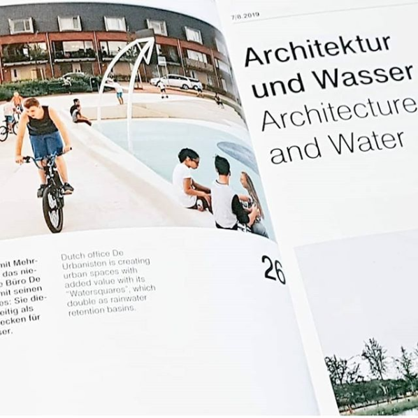 Watersquare Tiel featured in Detail Magazine Architektur und Wasser 7/9 2019