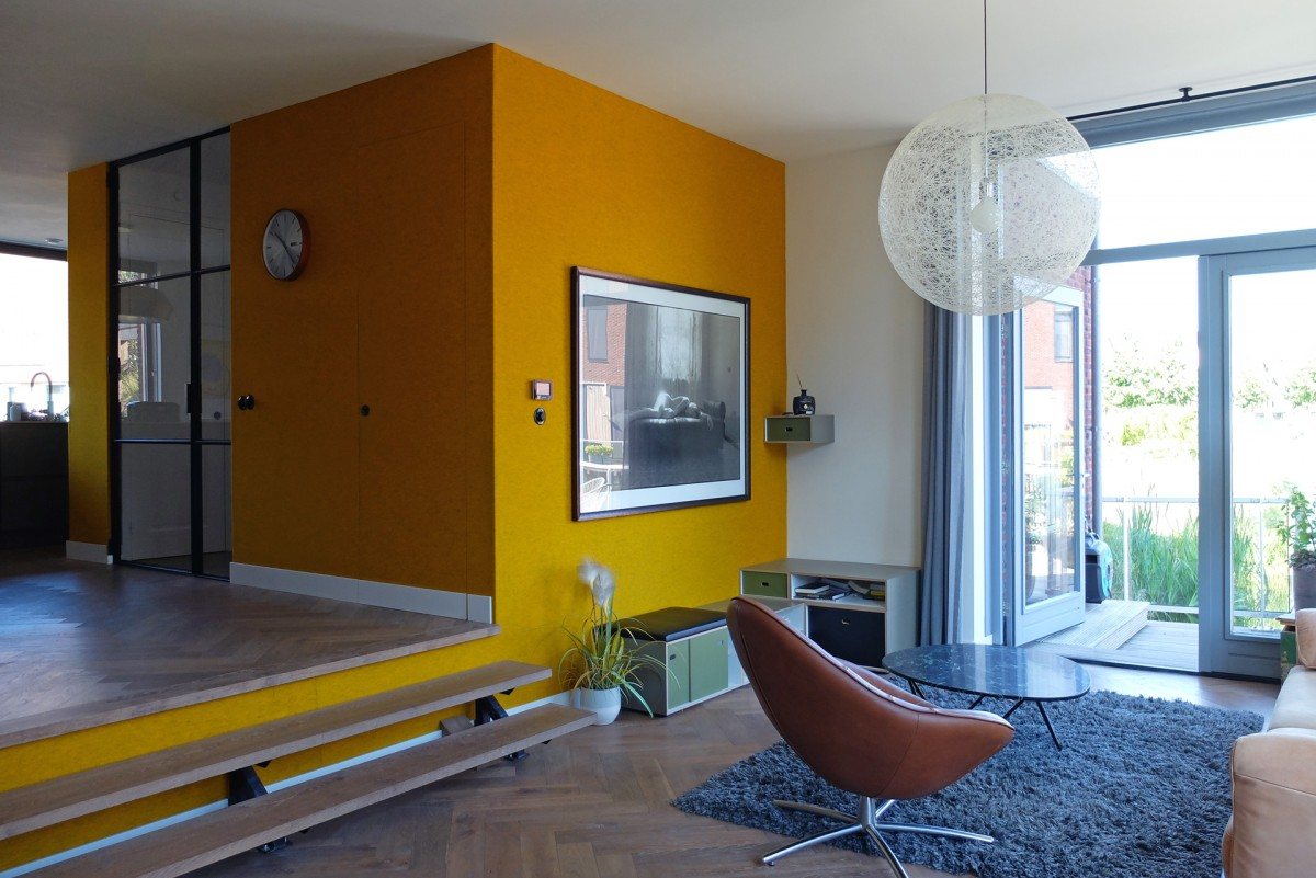 Orange Core House delivered