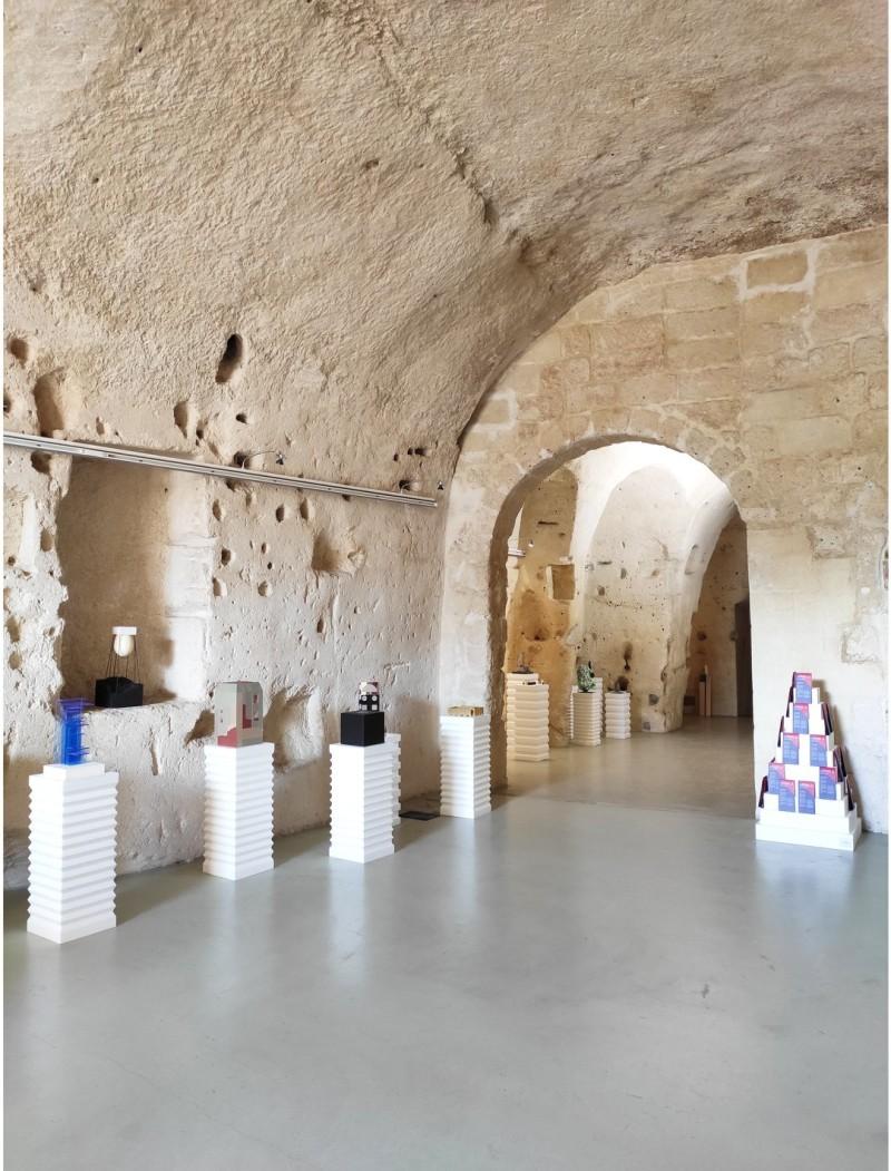 Cheer Up City exhibited at Casa Cava in Matera, Italy