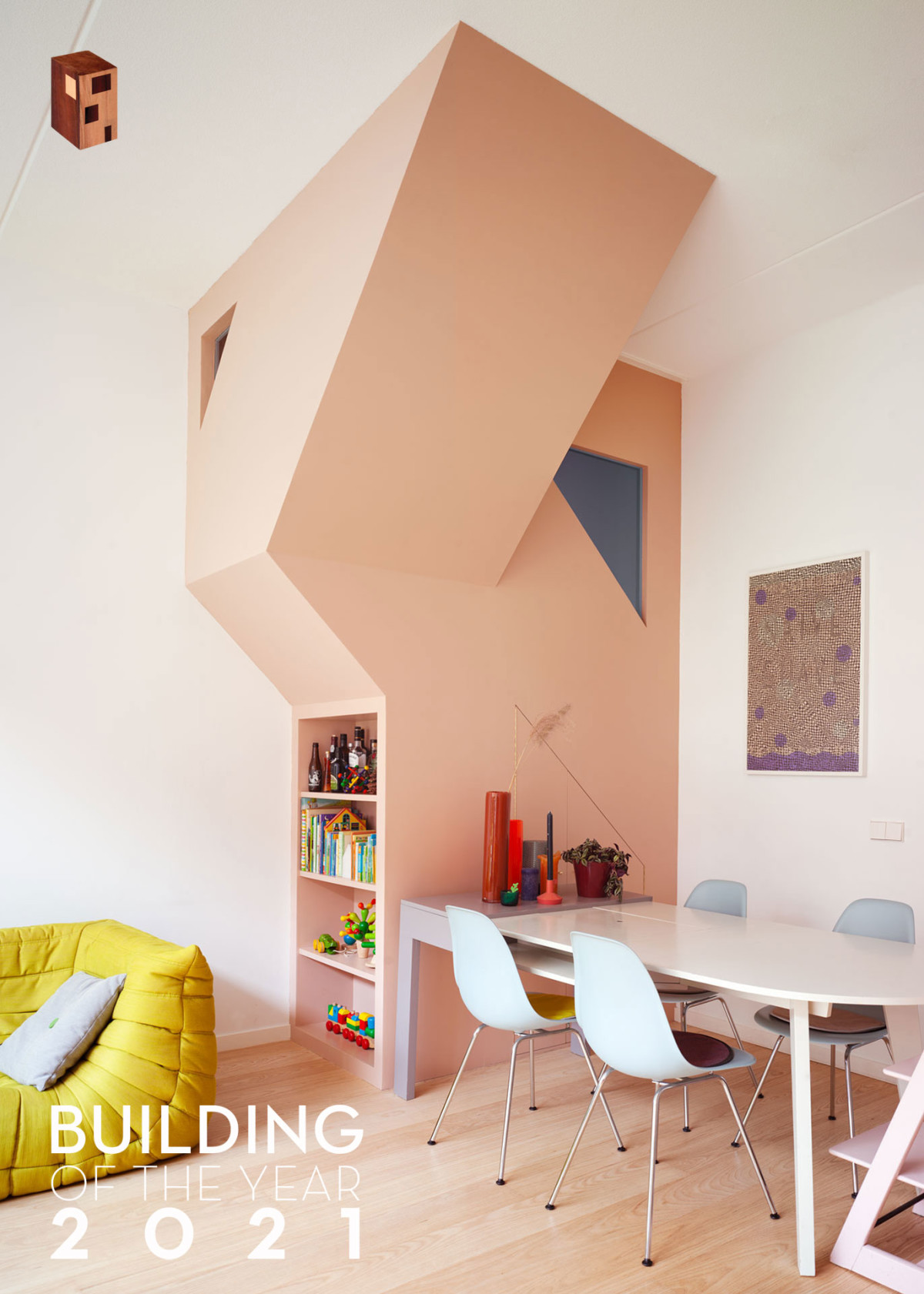 Building Of The Year nomination for Work Home Play Home by Archdaily!