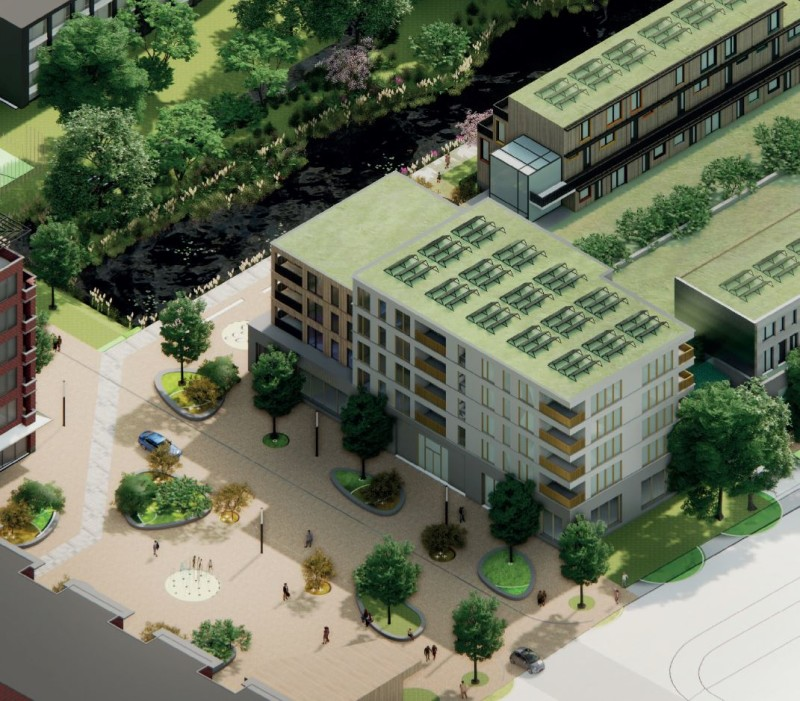 Runner up Heart for Ambacht 100 CLT homes