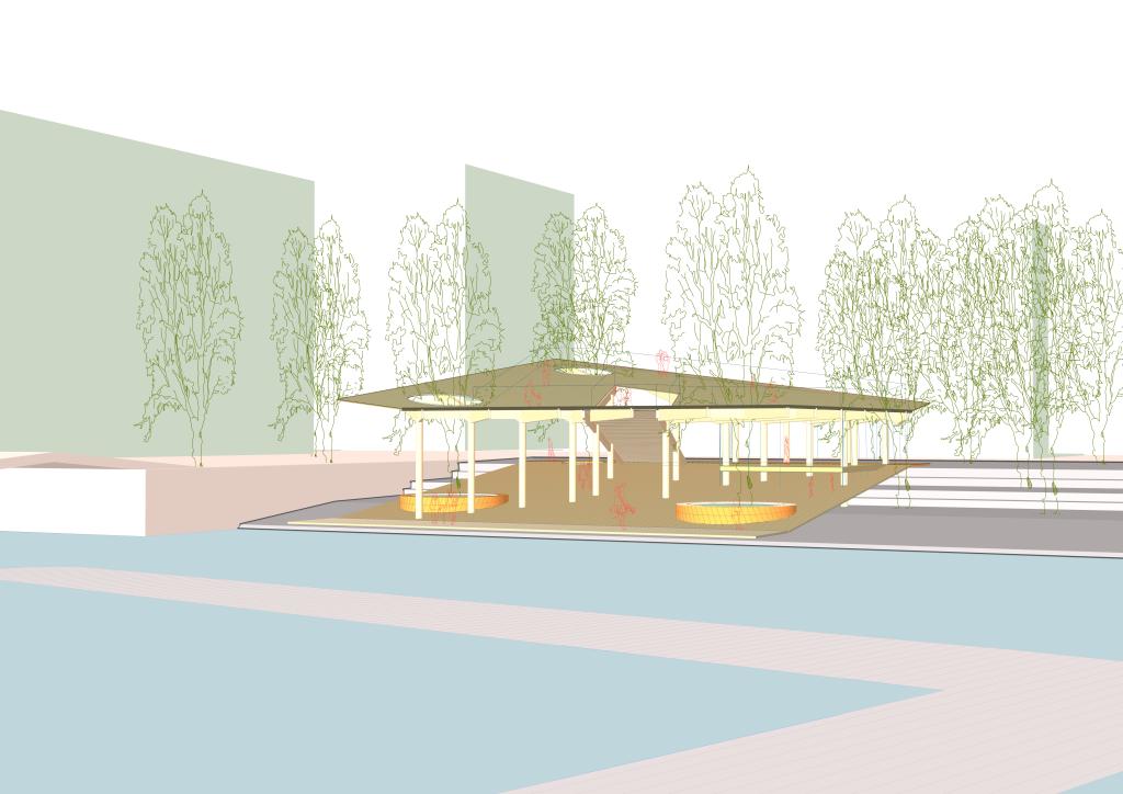 LAGADO architects - Sluisbuurt Water pavillion P'eaublique 2